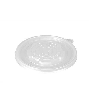 Deckel für Suppenbecher To Go, PP rund Ø 11 cm transparent - Bild 1