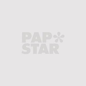 """Fingerfood-Plastikteller (PS), eckig 2,5 cm x 8,5 cm x 9,5 cm lila """"Fluid"""" - Bild 3"""