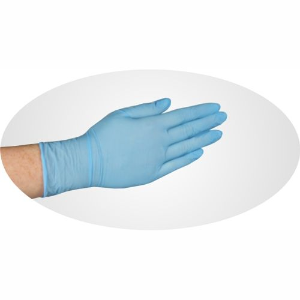 "Nitril Handschuhe puderfrei blau ""Food Profi"" Größe M - Bild 2"