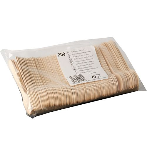 Kaffeelöffel, Holz 11 cm - Bild 2