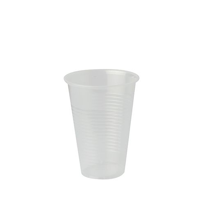 """""""Party Line"""" Trinkbecher, PP 0,4 l Ø 9,4 cm · 12,6 cm transparent - Bild 1"""