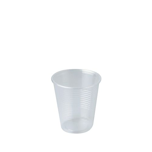 """Premium Line"" Trinkbecher, PP 0,15 l Ø 7 cm · 7,8 cm transparent - Bild 1"