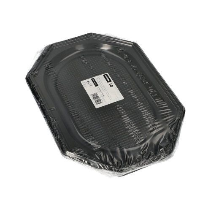 Servierplatten, PET 35 x 25 cm schwarz - Bild 2