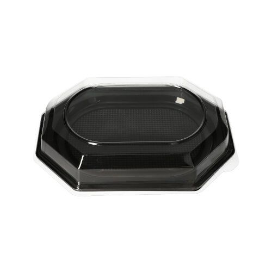 Servierplatten, PET 35 x 25 cm schwarz - Bild 3