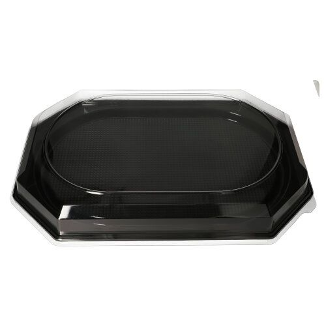 Servierplatten, PET 55 x 36 cm schwarz - Bild 3