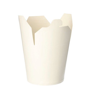 Nudelbox - Asia Box eckig 750 ml 10,1 x 10 x 9,1 cm weiss - Bild 2