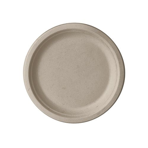 """Zuckerrohr Teller """"pure"""", Ø 15 cm natur - Bild 1"""