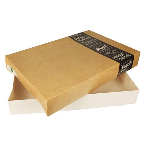 "Catering-Kartons ""pure"" eckig 8 x 37,6 x 55,7 cm ""Good Food"" groß - Bild 4"
