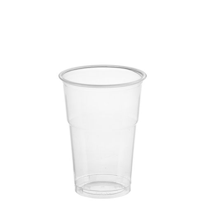 "Plastikbecher (PET) ""Hurricane"" 0,25 l Ø 7,8 cm · 10,8 cm glasklar - Bild 1"