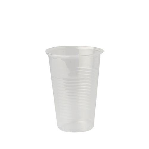 Trinkbecher, PP 0,25 l Ø 8 cm · 11,3 cm transparent - Bild 1